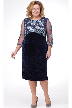 Платье TricoTex Style 33-18 синий