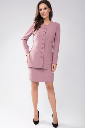 Комплект юбочный Teffi style 1434 розовые тона