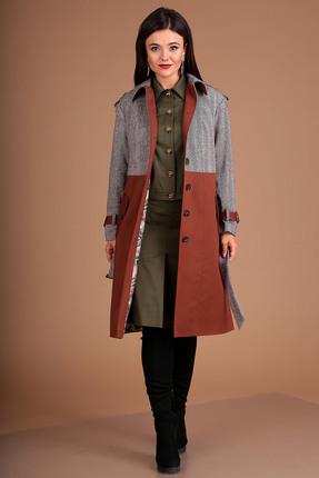 Пальто Мода-Юрс 2502 карамель