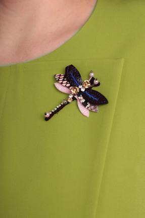 Фото 3 - Комплект юбочный Milana 920 зеленый зеленого цвета