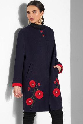 Пальто Lissana 3831 темно-синий