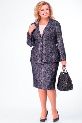 Комплект юбочный Anelli 703 синий
