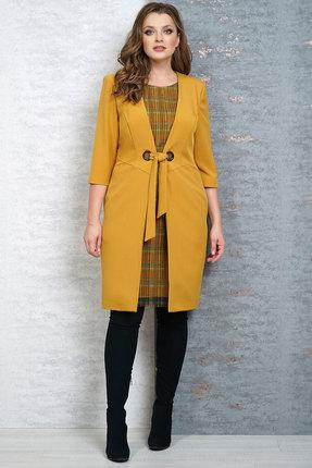 Платье Белтрикотаж 4258 желтый