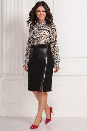 женская юбка solomeya lux, черная