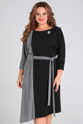 Платье Denissa Fashion 1269 черный