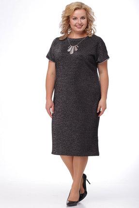 Платье KetisBel 1347 темные тона