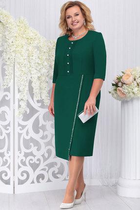 Платье Ninele 2222 изумруд