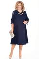 Платье Pretty 941 синий, размер 56-66