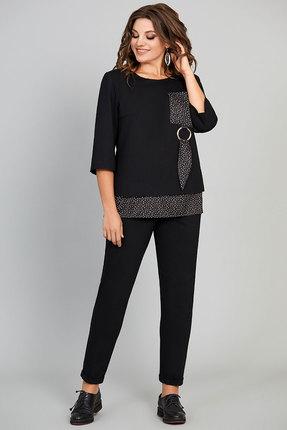 Комплект брючный Olga Style с631 черный