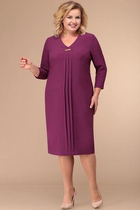 женское повседневные платье линия-л, фуксия