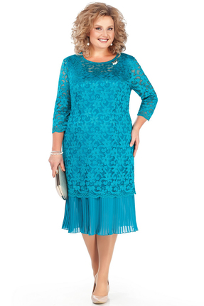 Платье Pretty 956 бирюзовый