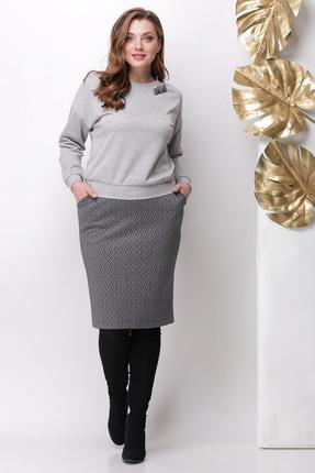 Комплект юбочный Michel Chic 1140 серый