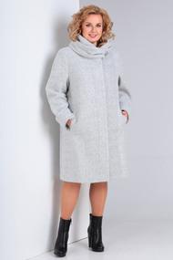 Пальто Диамант 1016 светло-серый