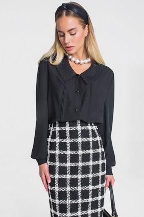 Блузка Elletto 3374 черный