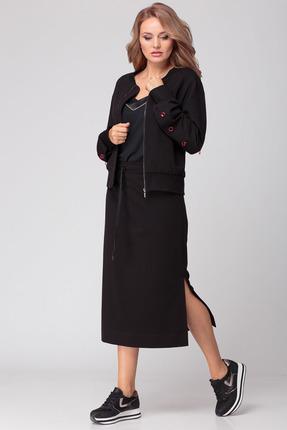 Комплект юбочный Anna Majewska 1292 черный