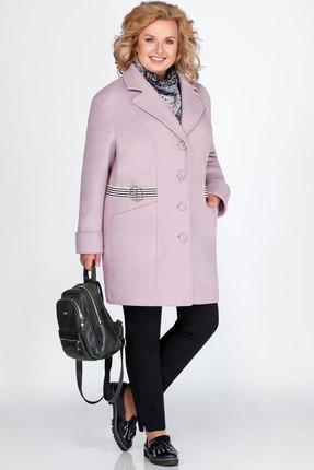 Пальто LaKona 1235 лавандовый
