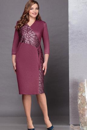 Платье Nadin-N 1716 марсала