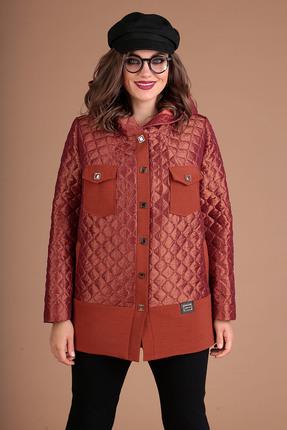Куртка Мода-Юрс 2381 оранжевые тона