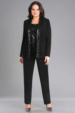женский брючный костюм foxyfox, черный