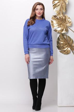 Комплект юбочный Michel Chic 1141 светло-синий