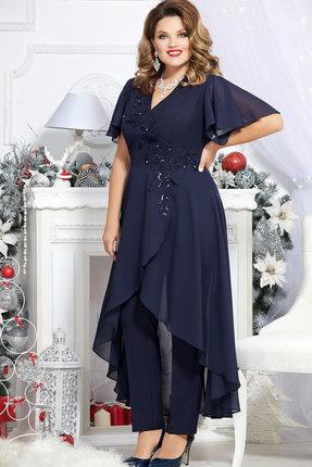 Комплект брючный Mira Fashion 4673 тёмно-синий