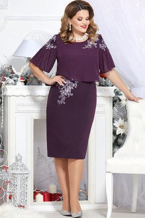 Платье Mira Fashion 4691 слива