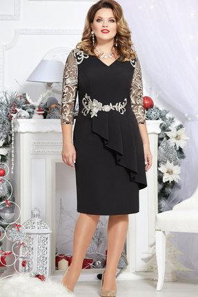 Платье Mira Fashion 4701 чёрный