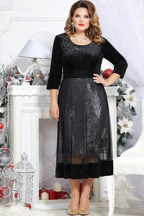 Платье Mira Fashion 4720 чёрный