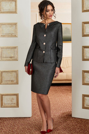 Комплект юбочный Lissana 3870 серый