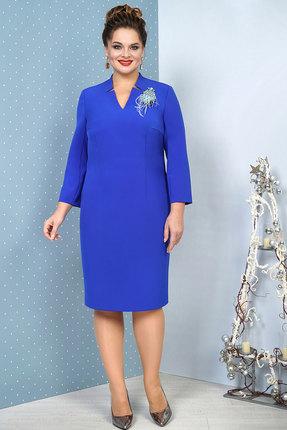 Платье Alani 1033 василек