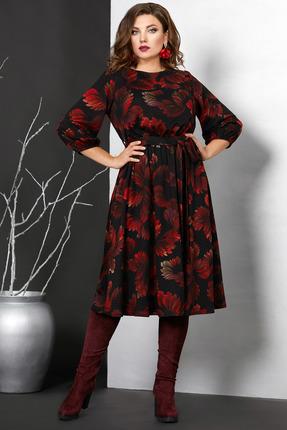 женское повседневные платье мублиз, черное