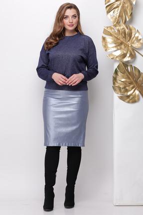 Комплект юбочный Michel Chic 1141 синий