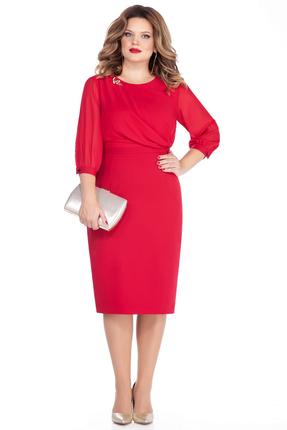 Платье TEZA 257 красный