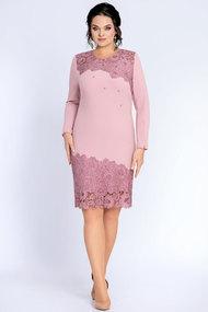 Платье Джерси 1840 розовый