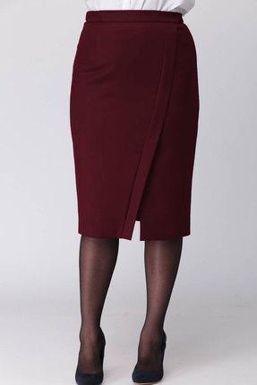 женская юбка mali, бордовая