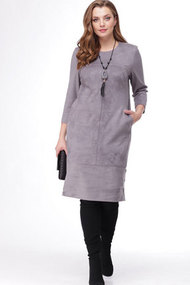 Платье MALI 4126 серый