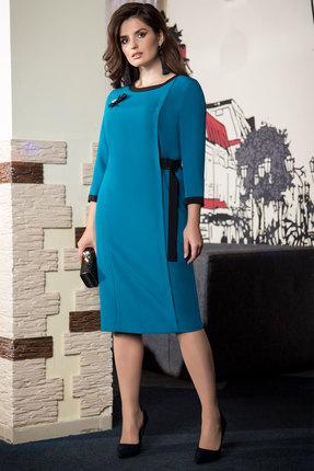 женское вечерние платье elady, бирюзовое