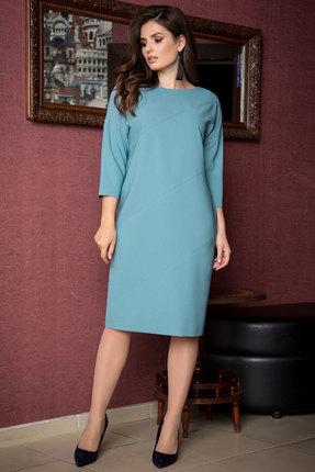 женское повседневные платье elady, бирюзовое