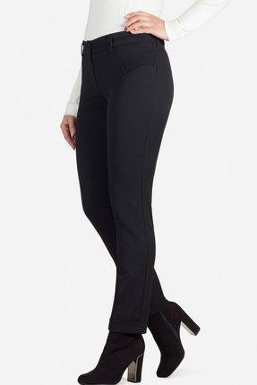 Женские черные осенние брюки с карманами классика