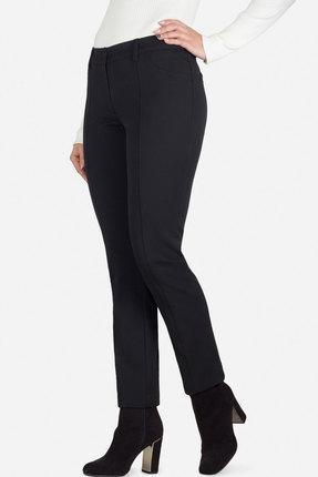 Женские черные осенние зауженные брюки классика