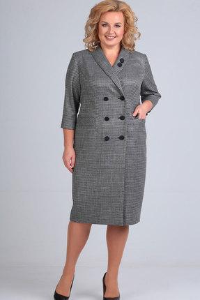 женское повседневные платье elga, серое