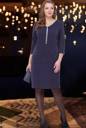 женское вечерние платье таиер, синее
