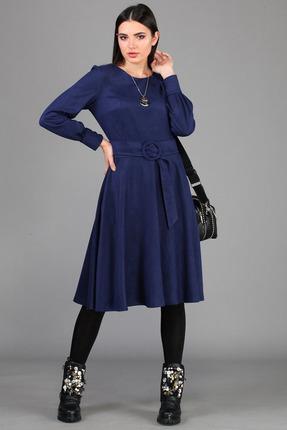 женское повседневные платье b&f, синее