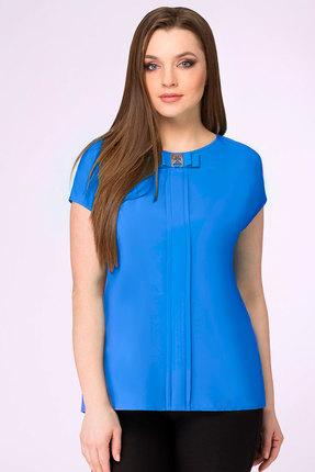 женская блузка белэкспози, синяя