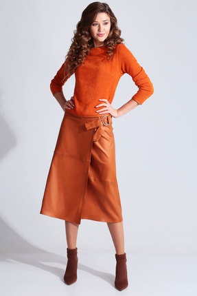 Фото - Комплект юбочный Axxa 26125а оранжевый оранжевого цвета