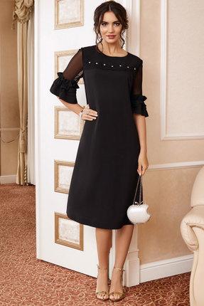 Фото - Платье Lissana 3891 черный черного цвета