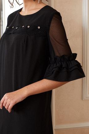 Фото 2 - Платье Lissana 3891 черный черного цвета
