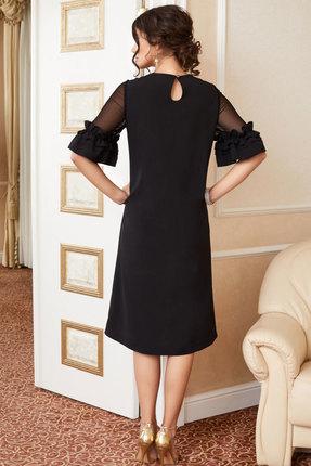 Фото 4 - Платье Lissana 3891 черный черного цвета