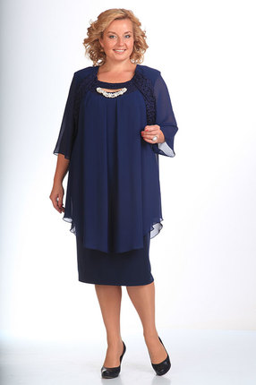 Платье Pretty 210 темно-синий