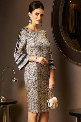 Платье Lissana 3936 золотой
